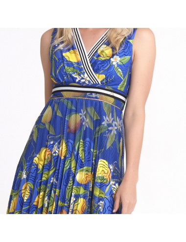 Sax Blue Dress