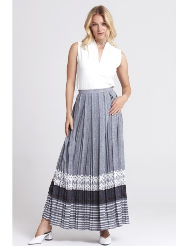 Gray Long Skirt