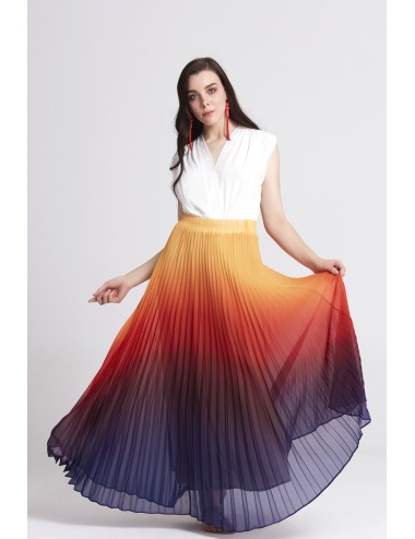Oranje Long Skirt