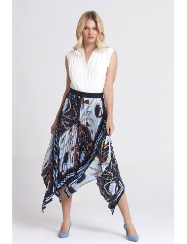 Navy Blue Long Skirt