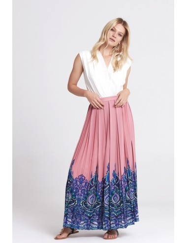 Long Skirt - Dusty Rose -