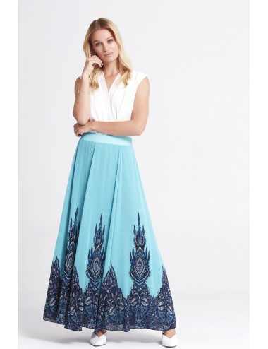 Mint Long Skirt
