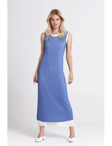 Blue Long Summer Dress
